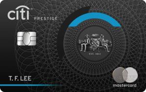 花旗銀行_Prestige_MasterCard世界之極卡