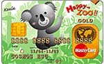 台北市立動物園認同卡MasterCard金卡
