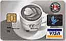 IS COFFEE晶片聯名信用卡VISA普卡
