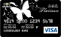 名佳美聯名卡VISA白金卡