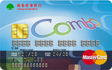 Combo多功能財富晶片卡MasterCard普卡