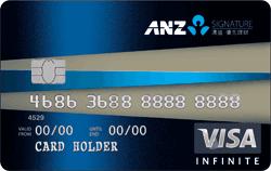 澳盛Signature優先理財信用卡(原澳盛)VISA無限卡