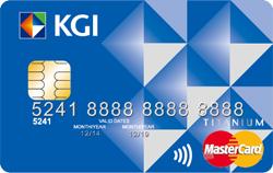 手機信用卡MasterCard鈦金卡