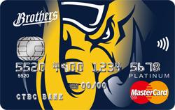 中信兄弟聯名卡MasterCard白金卡