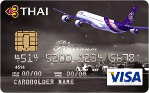 泰國航空聯名卡VISA白金卡