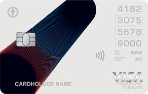 中國信託_中油聯名卡_VISA御璽卡