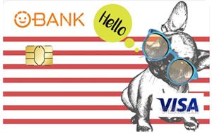 O-Bank簽帳金融卡VISA無卡等