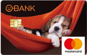 O-Bank簽帳金融卡MasterCard無卡等