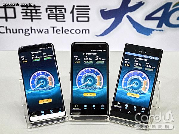 中華電信首家推出「4CA」載波聚合服務,上網速度最高破500Mbps,體驗飆網快感(圖/中華電信 提供)