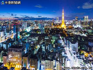 空中游览正夯 高空俯视香港东京湾