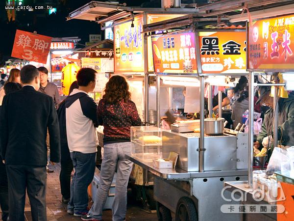 台北夜市打牙祭熱鬧登場,結合不同的夜市形態帶來新玩法,同步舉辦十大美食票選活動(圖/卡優新聞網)