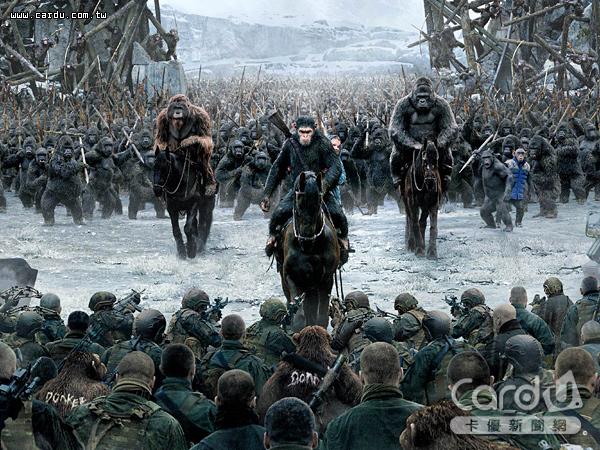 「決戰猩球」進入最後大結局,凱薩為了救出同類,與人類展開了一場終極決戰(圖/二十世紀福斯 提供)