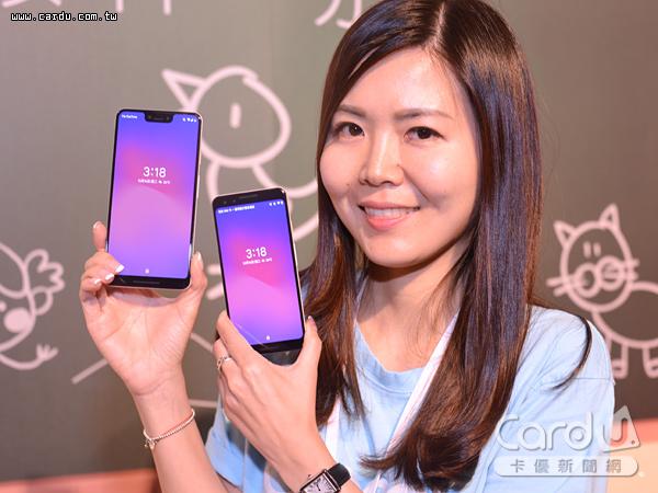 Google最新智慧型手機Pixel 3正式在台亮相,有5.5吋Pixel 3與6.3吋Pixel 3 XL等2種尺寸(圖/卡優新聞網)