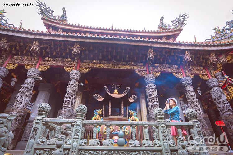 三峽清水祖師廟在新春搭配鄰近三峽老街的傳統活動,最能感受年節氣氛(圖/新北市政府 提供)